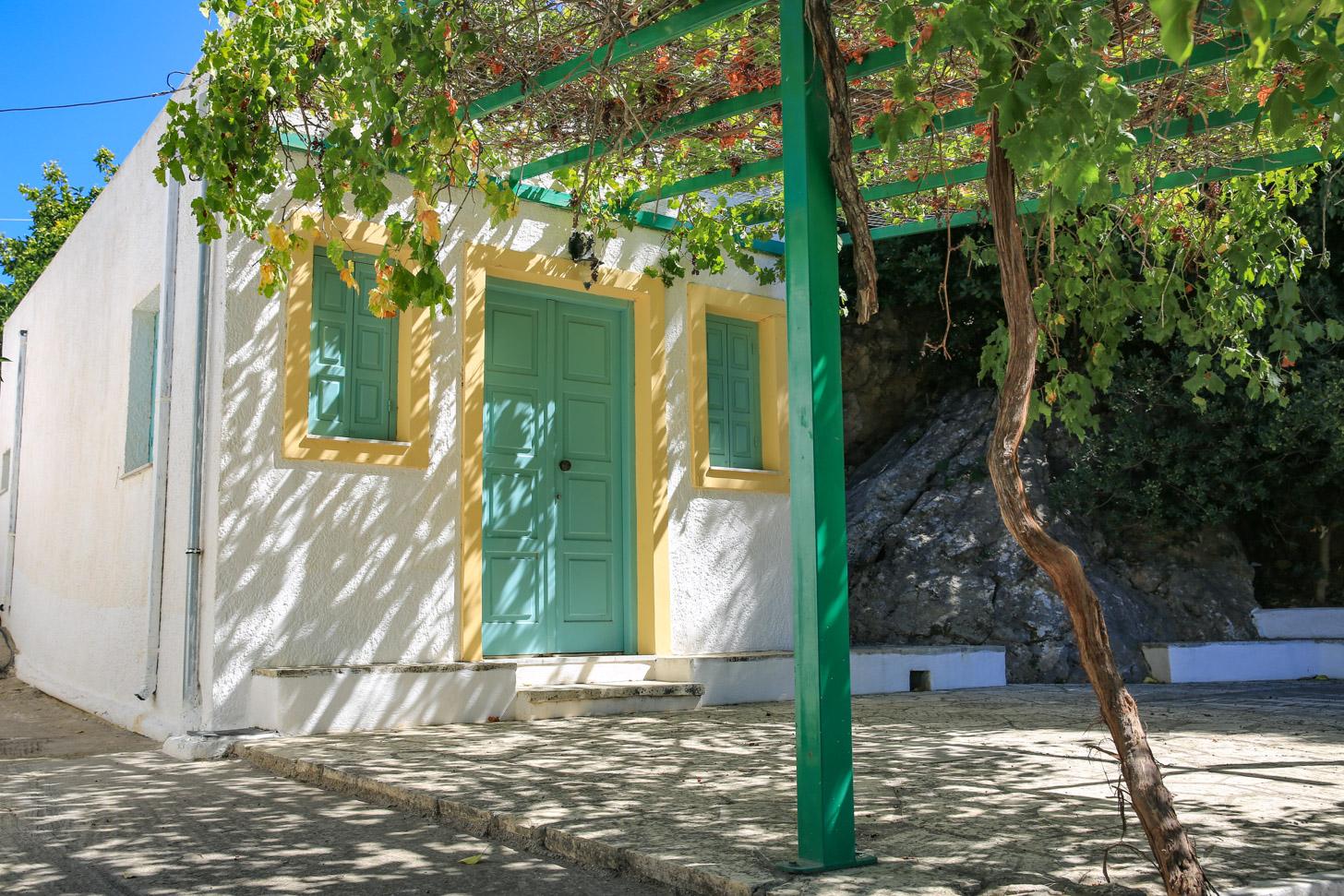 authentiek dorp op Kos