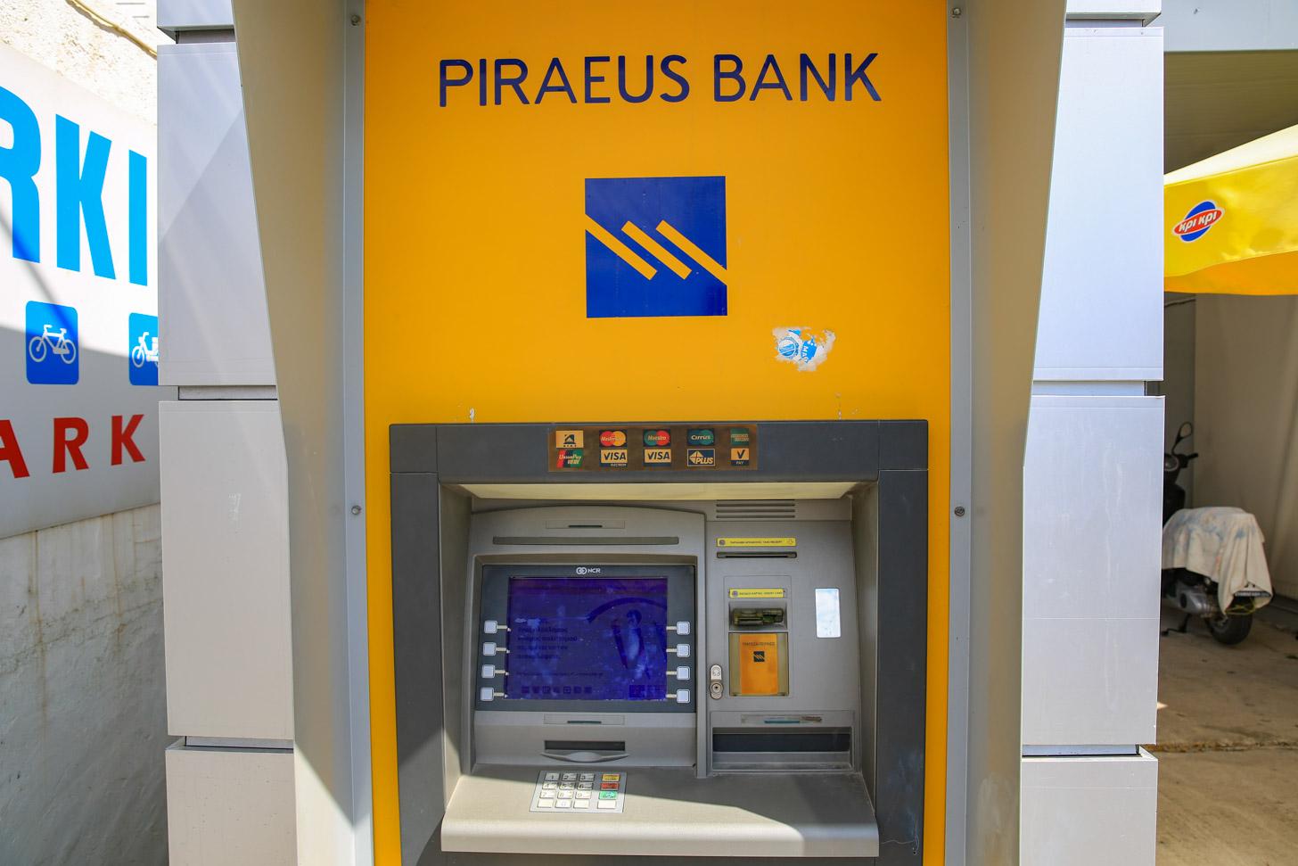 Geldautomaat op Kos