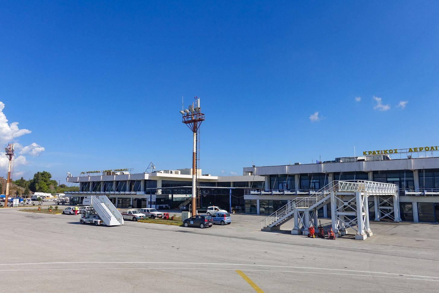 De luchthaven van Kos